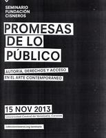 Promesas de lo público--autoría, derechos y acceso en...