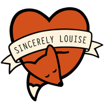 Sincerely Louise logo