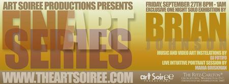 Exclusive Solo Art Exhibition Series at The Ritz...