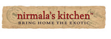 Nirmala's Kitchen Cooking School at the Farm, in New York's Hudson Valley. logo