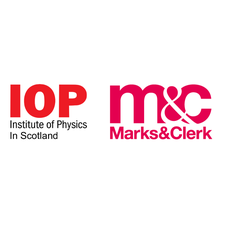 The Institute of Physics in Scotland in partnership with Marks & Clerk logo