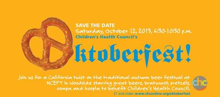 Children's Health Council Oktoberfest VOLUNTEER...