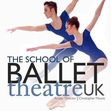 The School of Ballet Theatre UK in association with Ballet Theatre UK logo