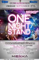 #ONS ONE NIGHT STAND FRI 9/27