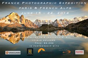 France Photographic Expedition: Paris & French Alps June 5...