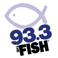 The Fish 93.3 fm logo