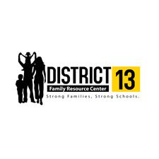 District 13 Family Resource Center logo