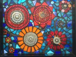 GLASS on GLASS Mosaic Class