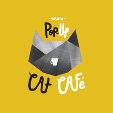 Edmonton Pop-Up Cat Cafe logo