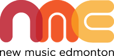New Music Edmonton logo