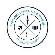 Ryerson Hospitality and Tourism Students' Society (RHTSS) logo