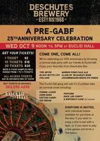 A Pre-GABF 25th Anniversary Celebration!