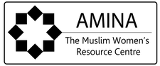 Amina - The Muslim Women's Resource Centre logo