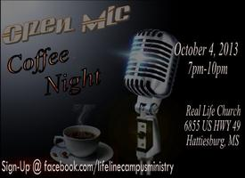 Open Mic Coffee Night