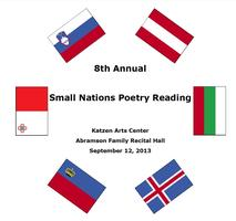 Small Nations Poetry Night 2013