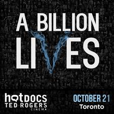A Billion Lives - Canadian Premier & After-Party logo