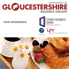 The Association of Gloucestershire Business Groups logo