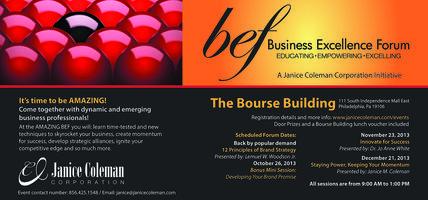 JCC Business Excellence Forum - November