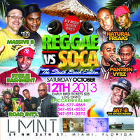 REGGAE vs SOCA MIAMI