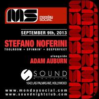 9/9 Monday Social wStefano Noferini FREE w/RSVP on the...