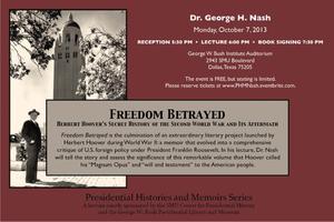 Freedom Betrayed: Herbert Hoover's Secret History of...