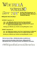 Wikipedia Takes Brooklyn