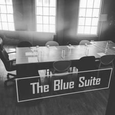 The Blue Suite logo