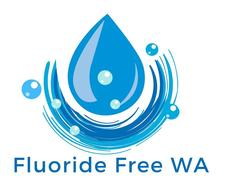 Fluoride Free WA in association with The Divine Company, Glow with Nat Russell and The Green Goodness Co. logo