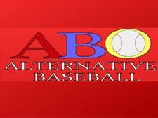 Alternative Baseball Organization logo