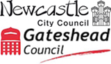 Gateshead Council & Newcastle City Council logo