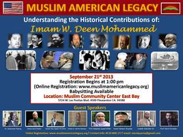 Muslim American Legacy  Free Event Free Food