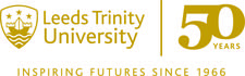 50 Years of Leeds Trinity University logo