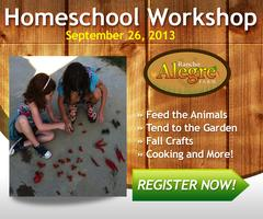 "Homeschool Workshop ""Fall Into Learning"""