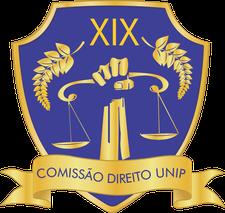 Comissão Direito Unip 19 logo