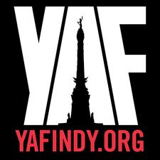 YAF Indy logo
