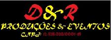 D & R PRODUÇÕES & EVENTOS.  logo