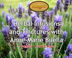 Herbal Infusions and Tinctures