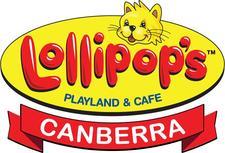 Lollipops Playland & Cafe Canberra logo
