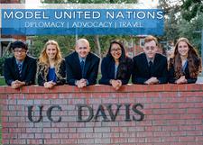 Model United Nations at UC Davis logo