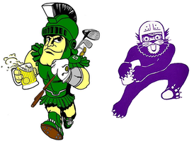 Michigan State @ Northwestern, Game + Tailgate Party...