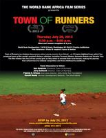 Town Of Runners (Followed by Q and A session with...