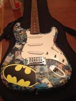Batman Guitar Raffle