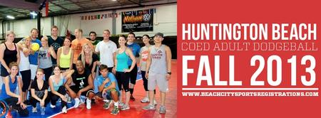 Adult Coed Dodgeball FUN on Sundays in Huntington Beach