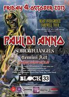 PAUL DI ANNO (IRON MAIDEN) + GUESTS LIVE @ BLOCK33