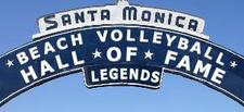 Santa Monica Beach Volleyball Hall of Fame logo