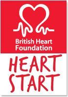 University of Manchester Heartstart  logo