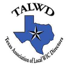 TALWD with training provided by DSHS WIC logo
