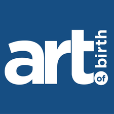 The art of birth logo