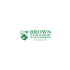 Brown College of Court Reporting logo