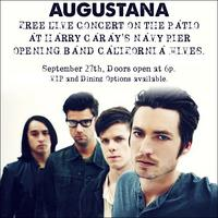 AUGUSTANA PERFORMS ON THE PATIO AT HARRY CARAY'S...